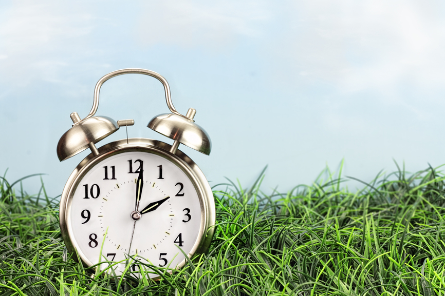 We move the clocks ahead one hour on March 8th at 2:00 am